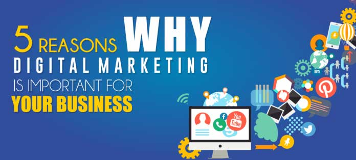 5 Reasons Why Digital Marketing Is Important For Your Business.